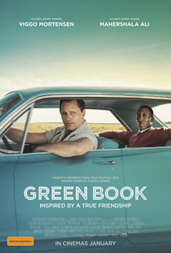 Green Book - Golden Globe Winner