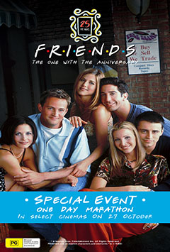 FRIENDS 25TH: THE ONE WITH THE ANNIVERSARY